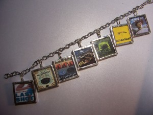 Turn Your Favorite Books into a Custom Made Charm Bracelet