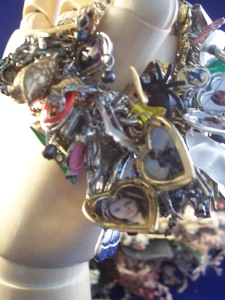 Harry Potter Themed Overloaded Charm Bracelet